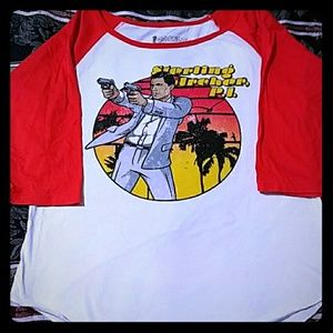 Sterling Archer graphic tee